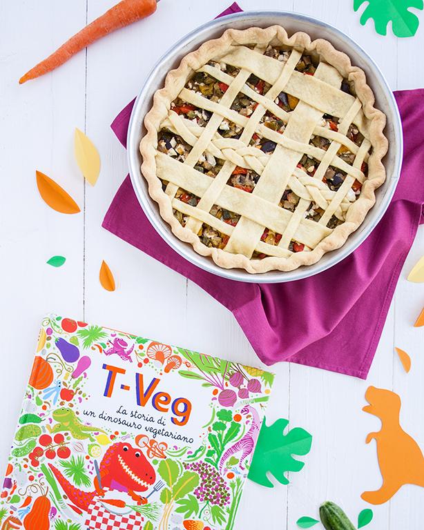 Crostata di verdure miste e feta ispirata al libro T-Veg